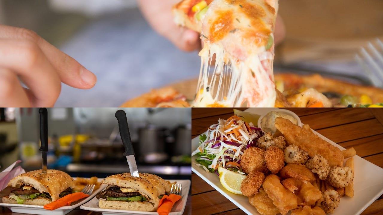 Bago Tavern sample food