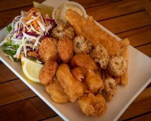 Seafood at Bago Tavern small